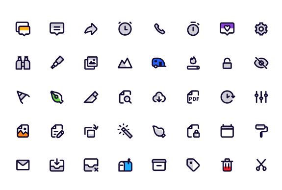 120 Figma Icons