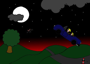 19 Einmal zum Mond und zurück
