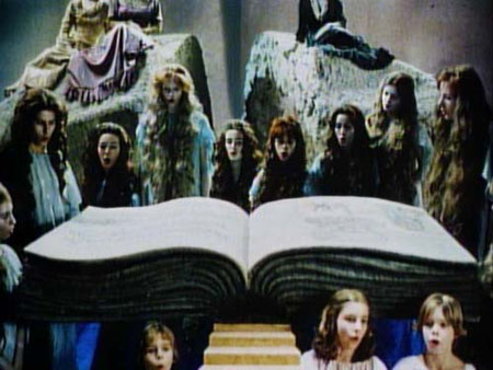 Scene from Syberberg's Parsifal (1982)