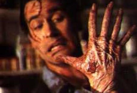 Still from Evil Dead II (1987)