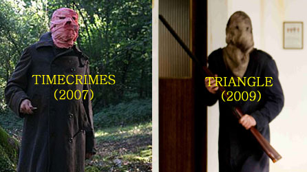 Timecrimes (2007)/Triangle (2009) comparison