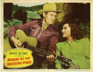 Poster for Riders of the Whistling Pines (1949)