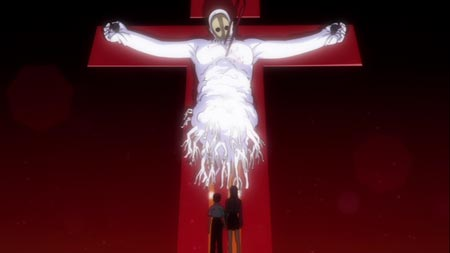 Still from Evangelion1.11: You Are (Not) Alone (2010)