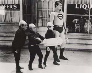 Still from Superman and the Mole Men (1951)