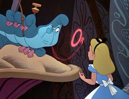Still from Alice in Wonderland (1951)