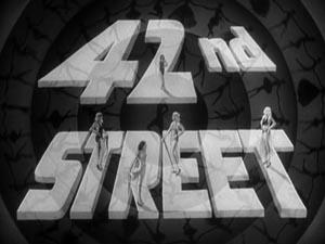 Still from 42nd Street (1933)