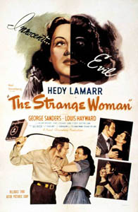 Poster for The Strange Woman (1946)