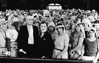 Still from Seven Chances (1925)