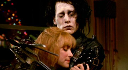 Still from Edward Scissorhands (1990)
