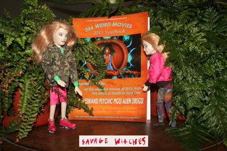 366 Weird Movies 2013 Yearbook Savage Witches