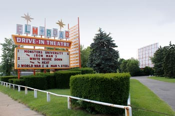 """Elm Road Drive-In Theatre"" by Jack Pearce from Boardman, OH, USA"
