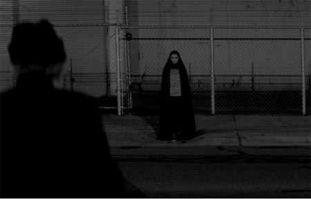 Still from A Girl Walks Home Alone at Night (2014)