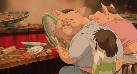 Still from Spirited Away (2001)