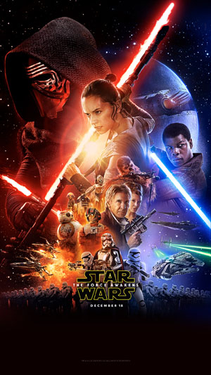 Poster for Star Wars: The Force Awakens (2015)