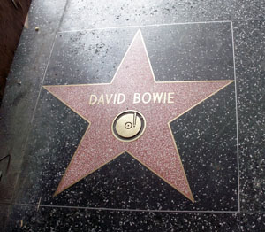 David Bowie Hollywood