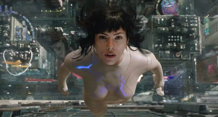 Still from Ghost in the Shell (2017)