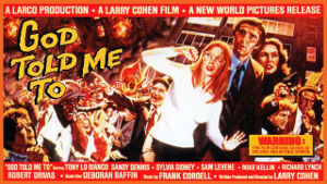 Poster for God Tole Me To (1976)