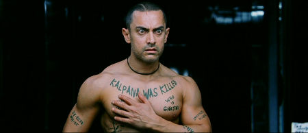 Still from Ghajini (2008)