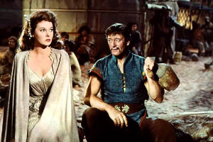 Still from The Conqueror (1956)