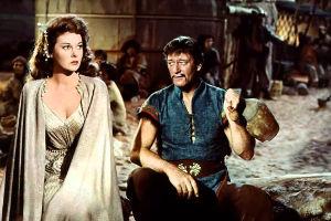 Still from The Conqueror (1956)