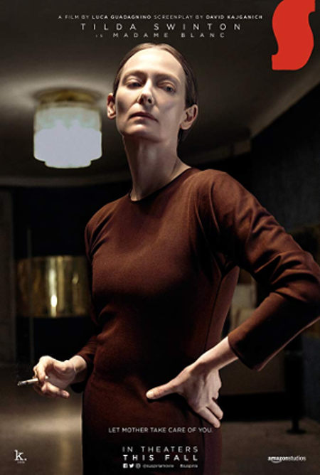 Weirdest Actress Tilda Wwinton in Suspiria (2018)