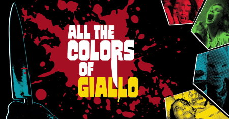 Key art from All the Colors of Giallo (2019)
