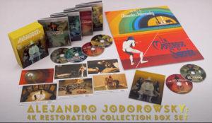 Jodorowsky 4K Restoration Blu-ray box set