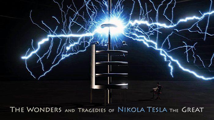 What caused Nikola Tesla's 1895 lab fire?