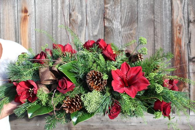 Christmas Flower Arrangements Delivered In Boulder Colorado
