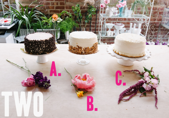 How To: A Trio Of Grocery Store Wedding Cakes