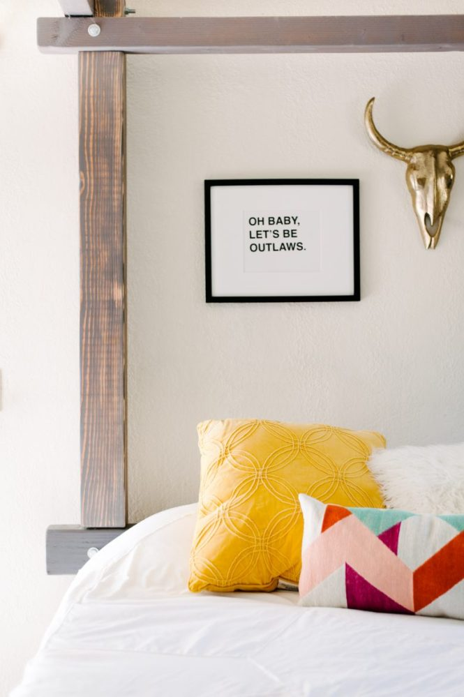 Bed With Target Home Decor And Leesa Mattress