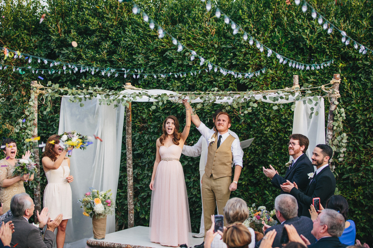 How We: Planned A $10K Backyard Wedding In Seventeen Days