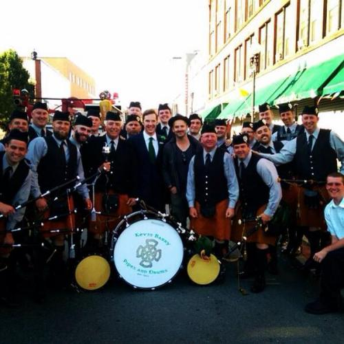 Ace photo of Benedict Cumberbatch & the band from Black Mass filming courtesy of @grt1888  Cumberbatchweb cumberbatchweb