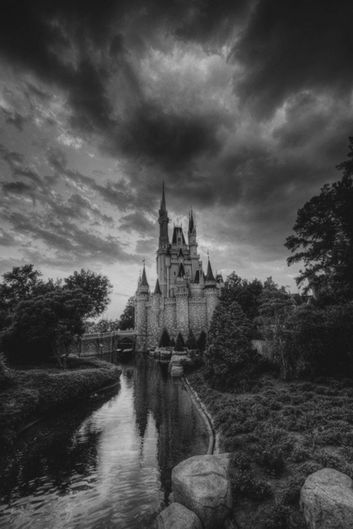 A dark castle.<br /> Imagine what stories<br /> its walls could tell if<br /> they could talk to us.<br /> Stories of the families<br /> who had lived there.<br /> Are there ghosts lurking<br /> inside these walls?<br /> Spirits who have unfinished business.<br /> Maybe we could see them roaming<br /> the empty halls at night.<br /> This what happens when you have<br /> an over-active imagination.