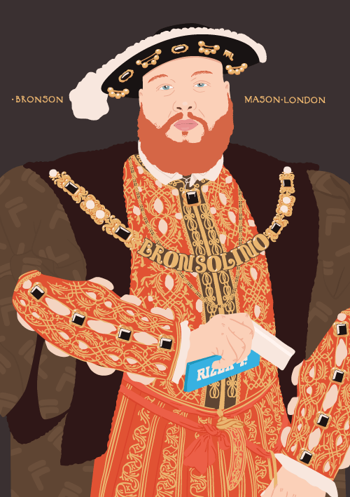 Action Bronson as Henry VIII