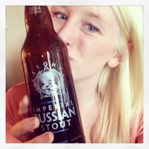 Loving the #beerclub pick tonight! @stonebrewingco #drinkandspoon #craftbeer #craftbeercommunity #beer #beerporn #beergasm #chickswhodrinkcraftbeer #beertography #beerstagram #instabeer