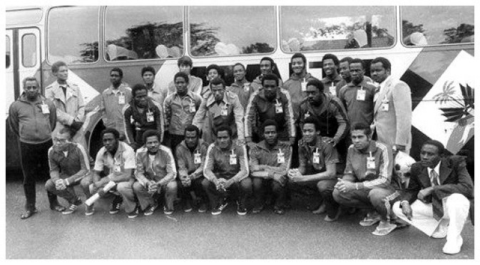 Team Haiti, World Cup 1974