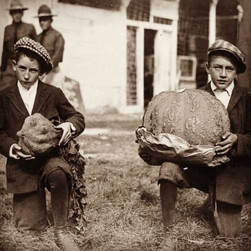 We joined instagram! Be sure to follow us there. While you're at it give us your best caption for this photo from 1918! #kentucky #history #pumpkin #vintage