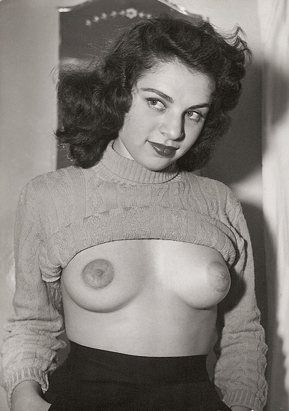mondotopless:  Rita Richman  Best retro breast reveal of the day! And her eyes! Yow!