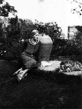 You'll call this sentimental—perhaps—but then a dog somehow represents the private side of life, the play side.Virginia Woolf (above with Pinka)