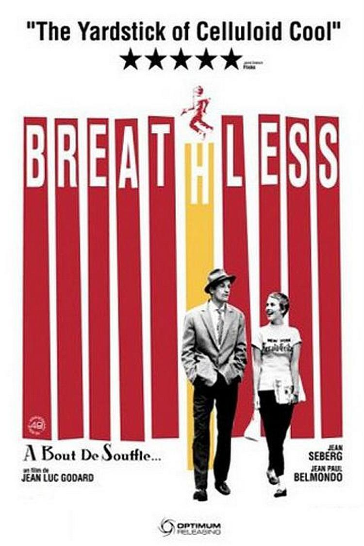 Film Poster for Breathless