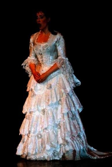 Christine Daae Wedding Dress Aminta Costume Sierra Boggess 10 The