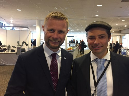 Minister-of-Health-Mr.Bent-Høie-meets-Arne-Hannson-Rannestad-37ºC