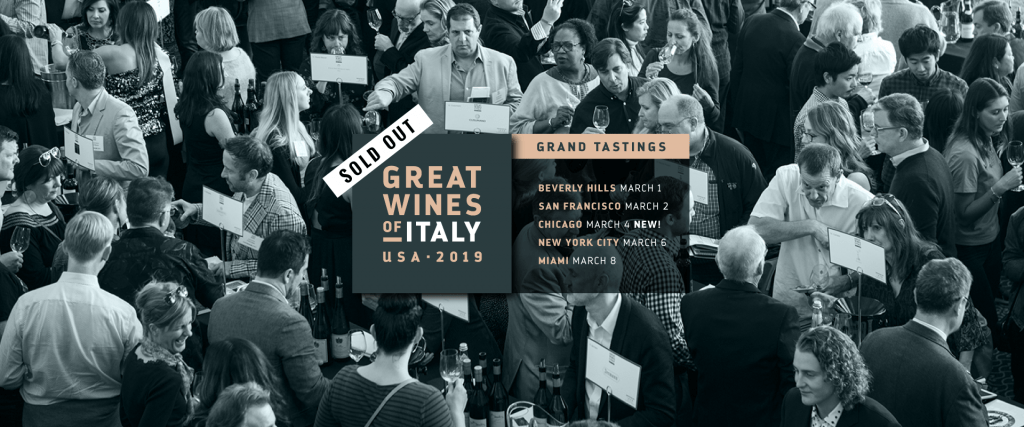 Great Wines of Italy, 2019