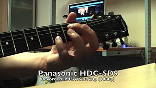 Recorded using Panasonic HDC-SD9