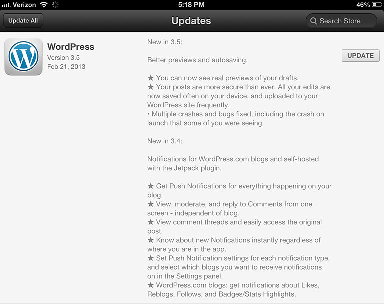 WordPress-3.5-for-iOS