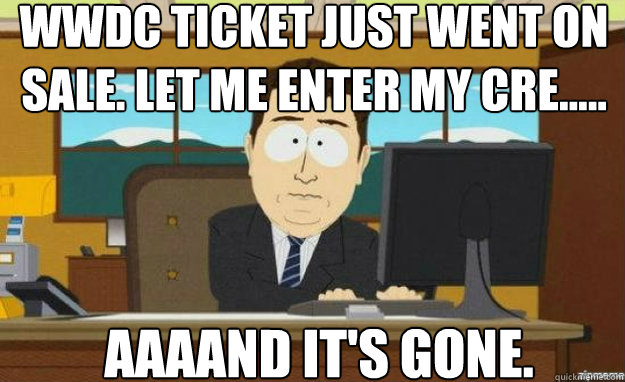 WWDC 2013 Ticket 3u3qb6