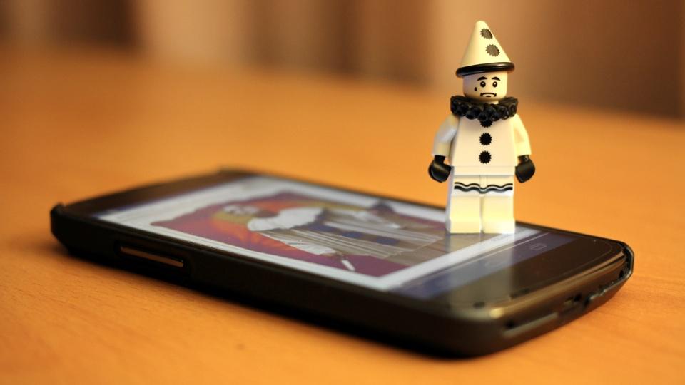 Pagliaccio Lego Minifigure