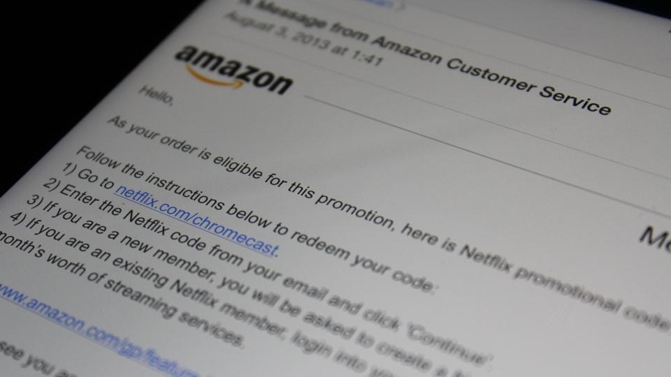 Amazon Honors Chromecast Netflix Promotion
