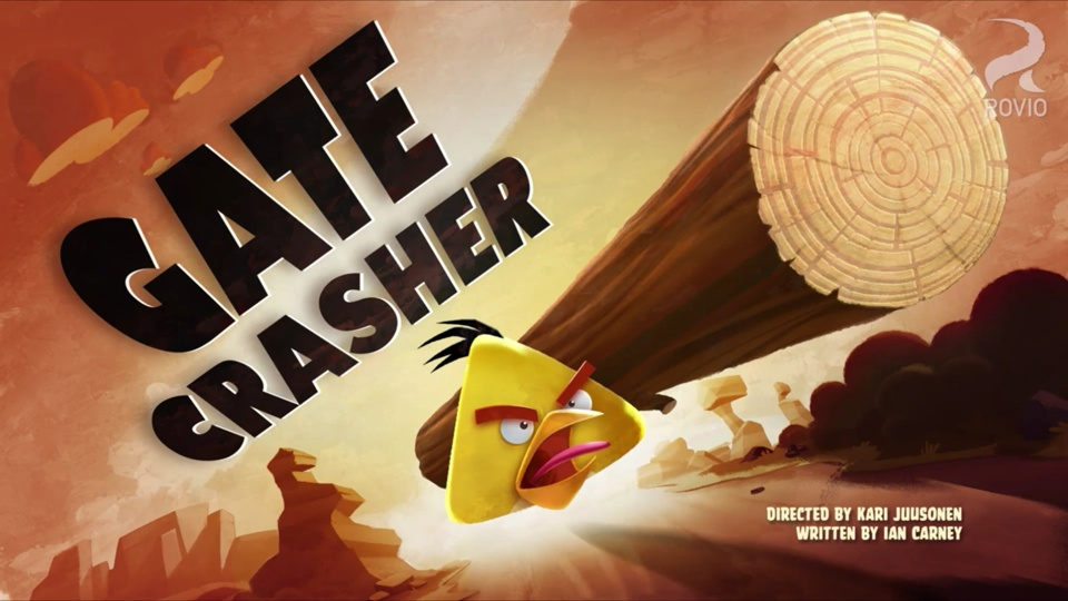 Angry Birds Toons Gate Crasher